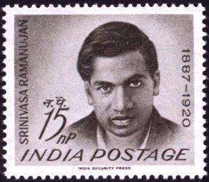 Stamp Ramanujan